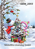Roger, CHRISTMAS ANIMALS, WEIHNACHTEN TIERE, NAVIDAD ANIMALES, paintings+++++,GBRM2203,#xa#