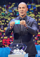 Ruud Gullit hat Russland gezogen - 30.11.2019: UEFA EURO2020 Auslosung, Romexpo Bukarest, DISCLAIMER: UEFA regulations prohibit any use of photographs as image sequences and/or quasi-video.