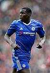 Kurt Zouma of Chelsea during the English Premier League match at Old Trafford Stadium, Manchester. Picture date: April 16th 2017. Pic credit should read: Simon Bellis/Sportimage
