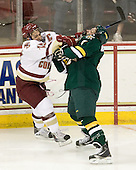 Joe Whitney (BC - 15), Nick Bruneteau (Vermont - 4) - The Boston College Eagles defeated the visiting University of Vermont Catamounts 6-0 on Sunday, November 28, 2010, at Conte Forum in Chestnut Hill, Massachusetts.