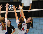 Quarter Final Round action in the LHSAA State Volleyball Playoffs between Metairie Park Country Day and St. Martin's Episcopal School.  Country Day advanced to the Semi-final round defeating St. Martin's 3-0.