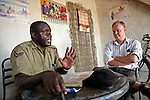 The camp commander says that the training sessions have made a difference. &quot;Before, people would not come to us with their problems,&quot; he admits. &quot;But now they know we will follow through with their cases, they are are happy to report them.&quot;<br />