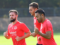 Marc Stendera (Eintracht Frankfurt), Branimir Hrgota, Marco Fabian (Eintracht Frankfurt) - 05.09.2018: Eintracht Frankfurt Training, Commerzbank Arena, DISCLAIMER: DFL regulations prohibit any use of photographs as image sequences and/or quasi-video.