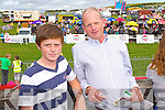 Enjoying Dingle Races on Friday were from left:  Shane and Canice Walsh, Tralee.