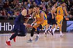 League ACB-ENDESA 2017/2018 - Game: 12.<br /> FC Barcelona Lassa vs Herbalife Gran Canaria: 77-88.<br /> Pau Ribas vs Marcus Eriksson.