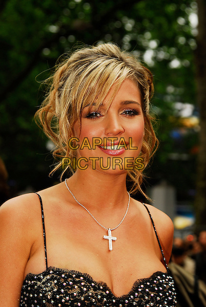 "DANIELLE LLOYD.""Life In A ... METRO"" world premiere at the Empire Leicester Square, London, England..May 8th, 2007.headshot portrait cross crucifix necklace .CAP/IA.©Ian Allis/Capital Pictures"