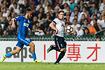 Tottenham Hotspur Midfielder Willian Miller (R) in action against SC Kitchee Midfielder Lum Jared Christopher (L) during the Friendly match between Kitchee SC and Tottenham Hotspur FC at Hong Kong Stadium on May 26, 2017 in So Kon Po, Hong Kong. Photo by Man yuen Li  / Power Sport Images