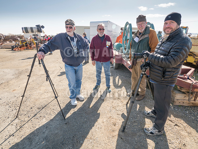 HDR photography with Ben Willmore and his wife Karen, in the field at the Walt Curtis ranch and junk yard during Shooting the West XXVII, Winnemucca, Nev.