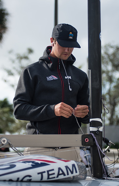 Luke Muller, photo: Belle Strachan/US Sailing Team