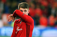 Ben Woodburn of Wales during the FIFA World Cup Qualifier Group D match between Wales and Republic of Ireland at The Cardiff City Stadium, Wales, UK. Monday 09 October 2017