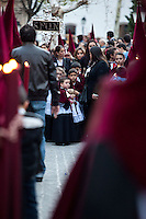 "The procession of the ""Favores"", Granada"