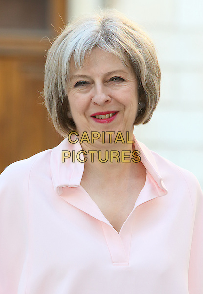 LONDON, ENGLAND - Theresa May at the Royal Academy Summer Exhibition Preview Party at the Royal Academy, Piccadilly, on Tuesday 3 May 2015 , London, England<br /> CAP/ROS<br /> &copy;Steve Ross/Capital Pictures