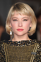 Haley Bennett<br /> arriving for the BAFTA Film Awards 2018 at the Royal Albert Hall, London<br /> <br /> <br /> ©Ash Knotek  D3381  18/02/2018