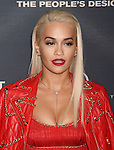HOLLYWOOD, CA - SEPTEMBER 08: Singer/actress Rita Ora arrives at the Premiere Of The Vladar Company's 'Jeremy Scott: The People's Designer' at TCL Chinese 6 Theatres on September 8, 2015 in Hollywood, California.