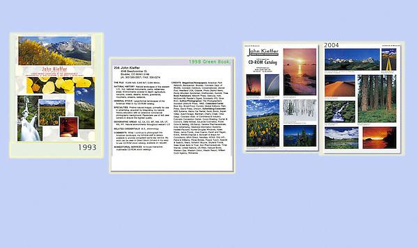 Colorado Creative (1993),  Green Book 1998), Direct Stock (2004),