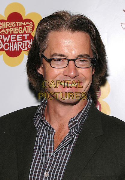 "KYLE MacLACHLAN.The afterparty for  the musical ""Sweet Charity"",  after the opening night performance on Broadway in New York, New York.May 4th, 2004.Photo Credit: Patti Ouderkirk/AdMedia.headshot portrait glasses.www.capitalpictures.com.sales@capitalpictures.com.© Capital Pictures."
