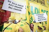 Stop Ceta, manifestazione a Montecitorio
