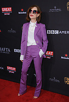 06 January 2018 - Beverly Hills, California - Isabelle Huppert. 2018 BAFTA Tea Party held at The Four Seasons Los Angeles at Beverly Hills in Beverly Hills.    <br /> CAP/ADM/BT<br /> &copy;BT/ADM/Capital Pictures