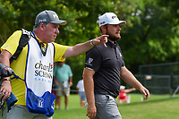 Tyrrell Hatton (ENG) heads down 3 during round 2 of the 2019 Charles Schwab Challenge, Colonial Country Club, Ft. Worth, Texas,  USA. 5/24/2019.<br /> Picture: Golffile   Ken Murray<br /> <br /> All photo usage must carry mandatory copyright credit (© Golffile   Ken Murray)