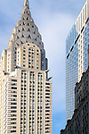 The Chrysler Building in Manhattan, New York City.