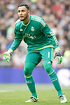Real Madrid's Keylor Navas during La Liga match. February 13,2016. (ALTERPHOTOS/Acero)