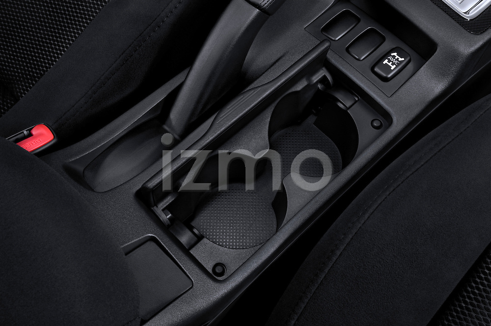 Center Console Cup Holder on a 2010 Mitsubishi Lancer Sportback
