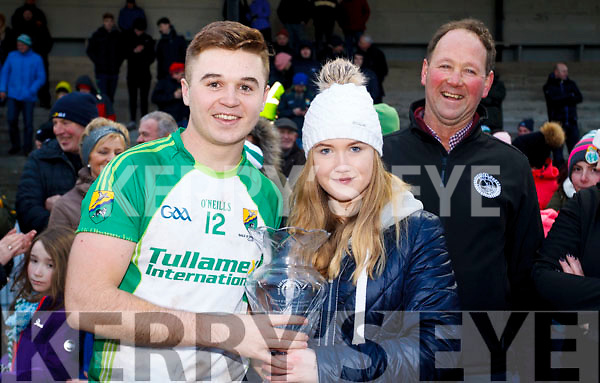 The man of the match at the NK Football final went to Daragh Sheehy.