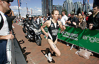 29 JUL 2007 - SALFORD, UK - Wieke Hoogzaad - Salford ITU World Cup Triathlon. (PHOTO (C) NIGEL FARROW)