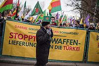 2018/02/04 Berlin | Kurden-Protest gegen türkischen Agriff auf Afrin