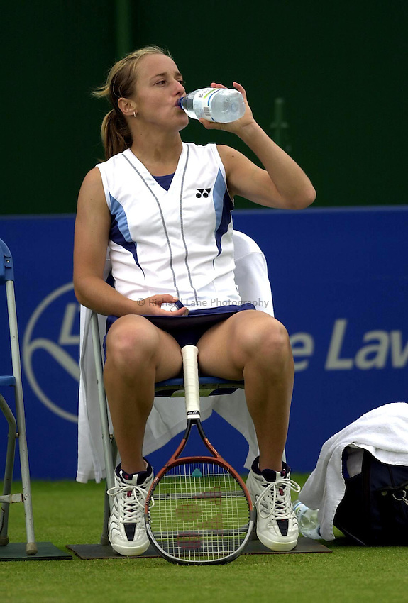 Photo: Richard Lane..DFS Classic Women's International Tennis at Edgebaston. 11/06/2003..Magdalena Maleeva.