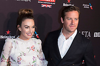 Armie Hammer and Elizabeth Chambers attend the BAFTA Los Angeles Awards Season Tea Party at Hotel Four Seasons in Beverly Hills, California, USA, on 06 January 2018. Photo: Hubert Boesl - NO WIRE SERVICE - Photo: Hubert Boesl/dpa /MediaPunch ***FOR USA ONLY***
