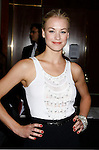 Actress Yvonne Strahovski arrives at the NBC Universal 2008 Press Tour All-Star Party at The Beverly Hilton Hotel on July 20, 2008 in Beverly Hills, California.