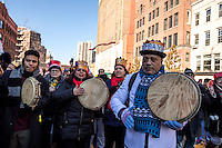 NEW YORK - JANUARY 06: Revelers play music during Three Kings Day Parade in East Harlem January 6, 2017 in New York City. The parade celebrates the Feast of the Epiphany, also known as Three Kings Day, marking the Biblical story of the visit of three kings to Bethlehem to visit the baby Jesus, revealing his divinity. Photo by VIEWpress/Maite H. Mateo