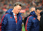 Manchester United Manager Louis van Gaal and Manchester United Assistant Manager Ryan Giggs walk off at half time<br /> - Barclays Premier League - Stoke City vs Manchester United - Britannia Stadium - Stoke on Trent - England - 26th December 2015 - Pic Robin Parker/Sportimage