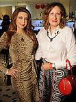 Parissa Mohajer and Ariana Smetana at a Dress for Dinner event featuring shoe designer Edgardo Osorio at Saks Fifth Avenue Wednesday Oct. 28, 2015.(Dave Rossman photo)