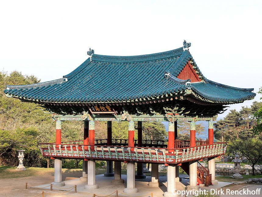 buddhistischer Tempel Naksan Sa bei Sokcho, Provinz Gangwon, S&uuml;dkorea, Asien<br /> buddhistic temple Naksan sa near Sokcho, province Gangwon, South Korea, Asia