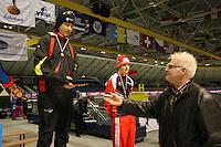 SCHAATSEN: HEERENVEEN: IJsstadion Thialf, 07-03-2008, VikingRace, Kai Verbij (NED), Jan Zwier (Thialf), ©foto Martin de Jong