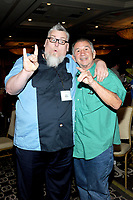 LAS VEGAS, NV - MAY 02: Blue Meanie and Gerald Brisco at the 53rd Cauliflower Alley Club Reunion Convention at the Gold Coast Hotel & Casino in Las Vegas, Nevada on May 2, 2018. Credit: George Napolitano/MediaPunch