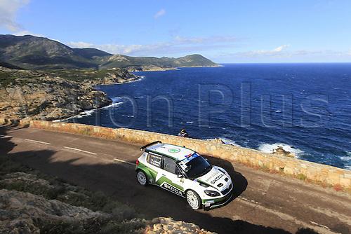 17.05.2013. Corsica.   Ian Kopecky Skoda Fabia S2000 Automobiles Rally Tour de Corse , Rallye de France.