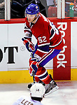 6 February 2010: Montreal Canadiens' rookie left wing forward Mathieu Darche in action against the Pittsburgh Penguins at the Bell Centre in Montreal, Quebec, Canada. The Canadiens defeated the Penguins 5-3. Mandatory Credit: Ed Wolfstein Photo