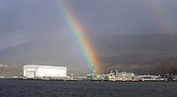 20/11/09 Astute sails into Faslane