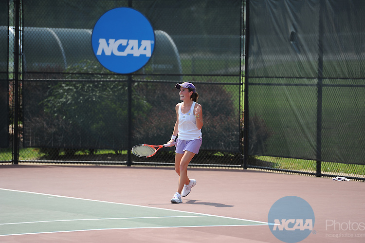 27 MAY 2010:  The Division III Women's Tennis Championship held at the Battleground Tennis Complex on the University of Mary Washington campus in Fredricksburg, VA. Greg Fiume/ NCAA Photos
