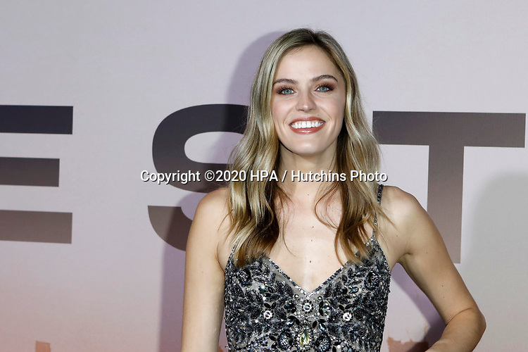 """LOS ANGELES - MAR 5:  Mia Marcon at the """"Westworld"""" Season 3 Premiere at the TCL Chinese Theater IMAX on March 5, 2020 in Los Angeles, CA"""