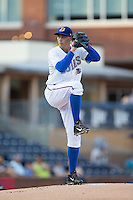 Durham Bulls starting pitcher Blake Snell (37) in action against the Indianapolis Indians at Durham Bulls Athletic Park on August 4, 2015 in Durham, North Carolina.  The Indians defeated the Bulls 5-1.  (Brian Westerholt/Four Seam Images)