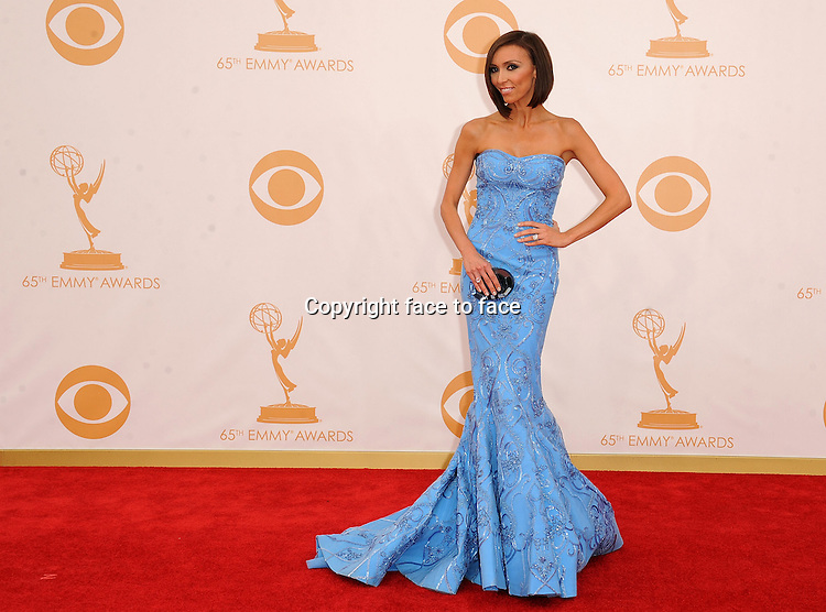 Giuliana Rancic arrives at the 65th Primetime Emmy Awards at Nokia Theatre on Sunday Sept. 22, 2013, in Los Angeles.<br /> Credit: MediaPunch/face to face<br /> - Germany, Austria, Switzerland, Eastern Europe, Australia, UK, USA, Taiwan, Singapore, China, Malaysia, Thailand, Sweden, Estonia, Latvia and Lithuania rights only -