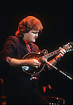Ricky Skaggs, Sept 1984, Concord Pavillion. Country and bluegrass singer, musician, producer, and composer. He primarily plays mandolin; however, he also plays fiddle, guitar, and banjo.