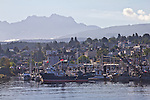 Vancouver Island, Alberni Inlet, Port Alberni, harbor, fishing boats, British Columbia, Canada,