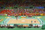 General View,<br /> SEPTEMBER 14, 2016 - Goalball : <br /> Quater-Final <br /> match between Japan - China<br /> at Future Arena<br /> during the Rio 2016 Paralympic Games in Rio de Janeiro, Brazil.<br /> (Photo by Shingo Ito/AFLO)