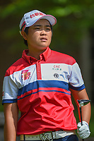 Peiyun Chien (TAI) watches her tee shot on 14 during round 2 of the U.S. Women's Open Championship, Shoal Creek Country Club, at Birmingham, Alabama, USA. 6/1/2018.<br /> Picture: Golffile | Ken Murray<br /> <br /> All photo usage must carry mandatory copyright credit (&copy; Golffile | Ken Murray)