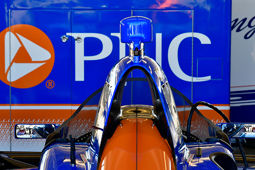 2018 Verizon IndyCar Series Phoenix testing<br /> Phoenix Raceway, Avondale, Arizona, USA<br /> Thursday 8 February 2018<br /> Scott Dixon, Chip Ganassi Racing Honda windscreen test<br /> World Copyright: Scott R LePage/LAT Images<br /> ref: Digital Image _SRL2959